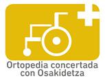 Ortopedia concertada con Osakidetza